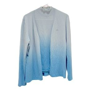 Escada sport Ombre blue cashmere sweater set XL